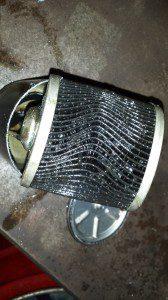 Mercedes C220 CDI fuel filter  autotecnic