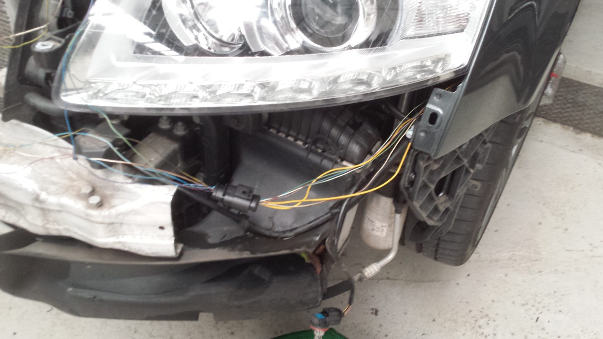 Audi A6 camera system fault - only months out of warranty - Audi